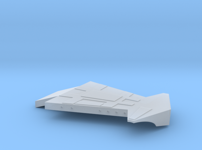 1/48th scale Wing Left for Hawk 3d printed