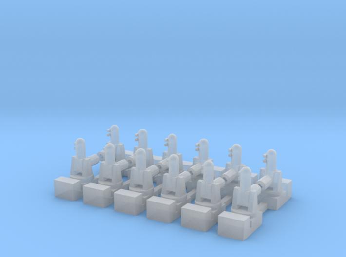 1/600 Phalanx CIWS (x12) 3d printed