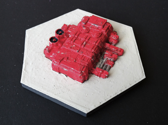 Custom Settlers of Catan Water Pumping Station 3d printed prototype printed with my own printer