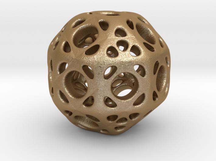 hydrangea ball 01 3d printed