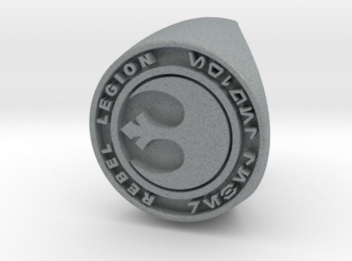 Custom Signet Ring Rebel Legion Size 6 3d printed