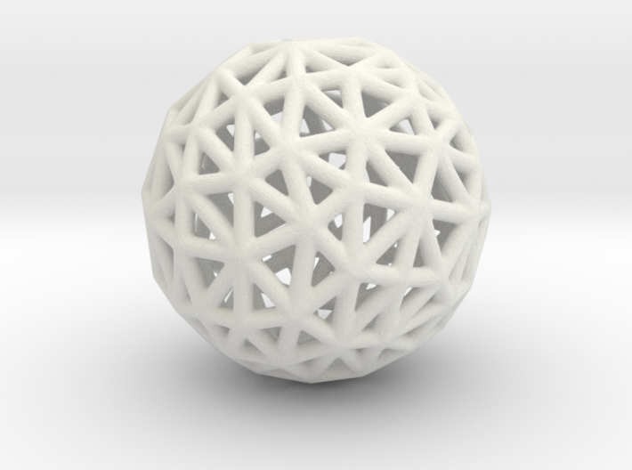 DRAW geo - sphere triangles C 3d printed