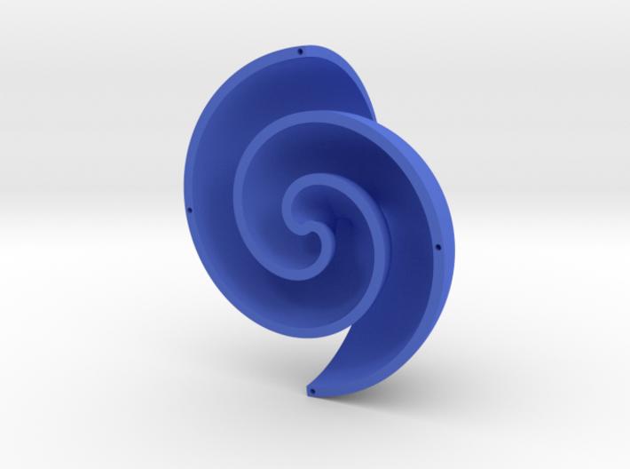Fermat Vortex Shell CCW 3d printed