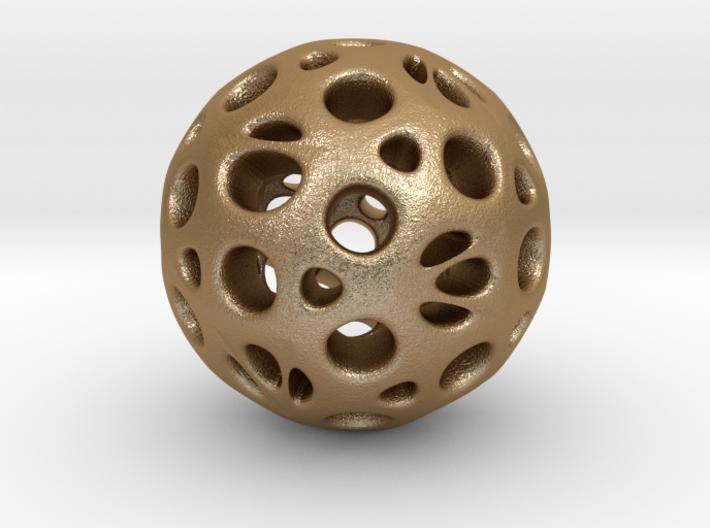 hydrangea ball 05 3d printed