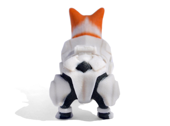 Storm Trooper Corgi 3d printed