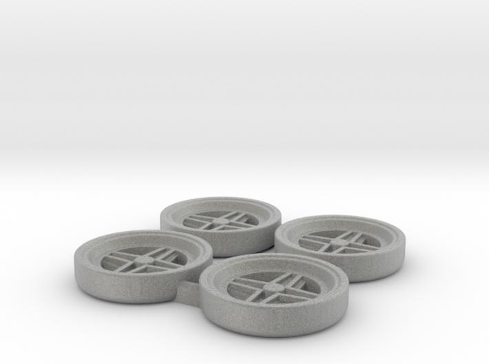Tapacubos Targa clásicos 3d printed