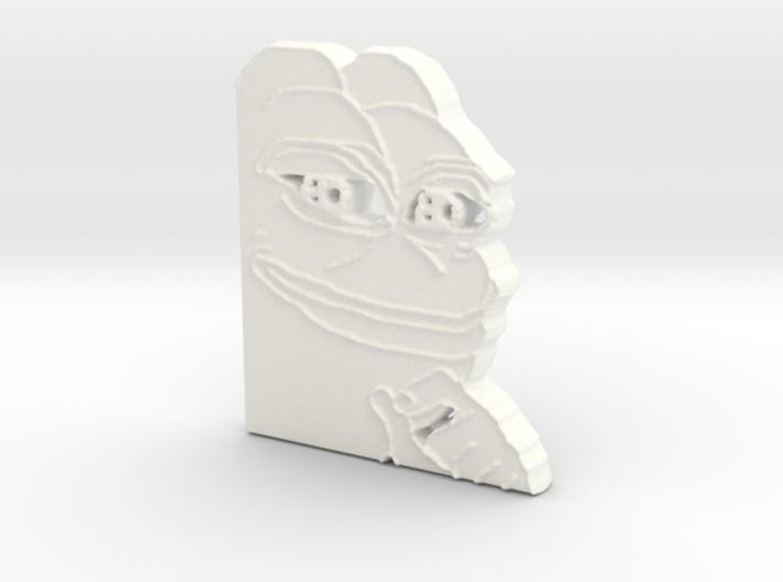 Pepe Pendant 3d printed