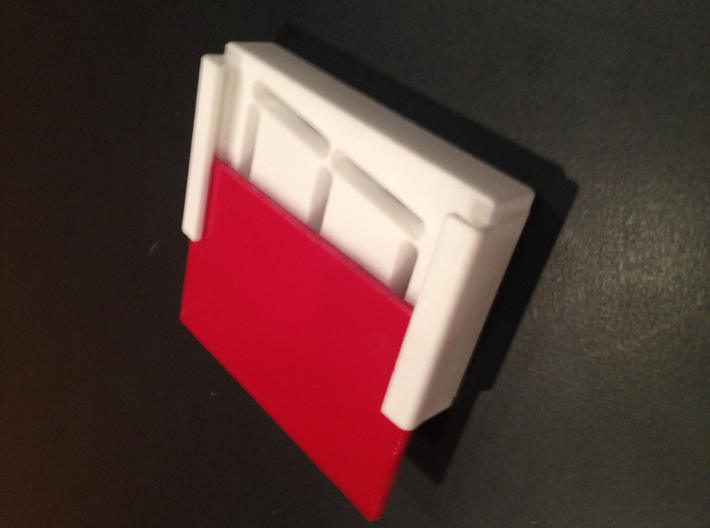 Skee Ball Ball Count Display Cover 3d printed Red translucent plastic not included.