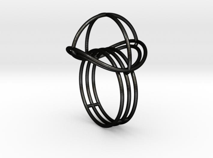 VESICA PISCIS Ring Nº2 3d printed