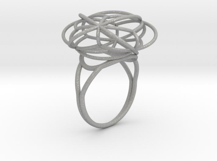 FLOWER OF LIFE Ring Nº2 3d printed