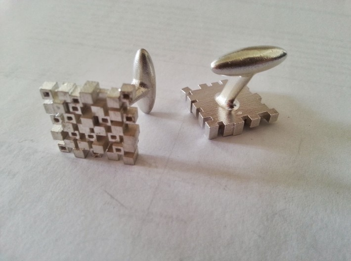 Cufflinks AP 3d printed