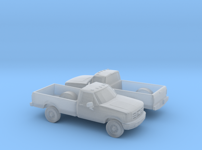 1/160 2X 1990  Ford F-Series Single Cab 3d printed
