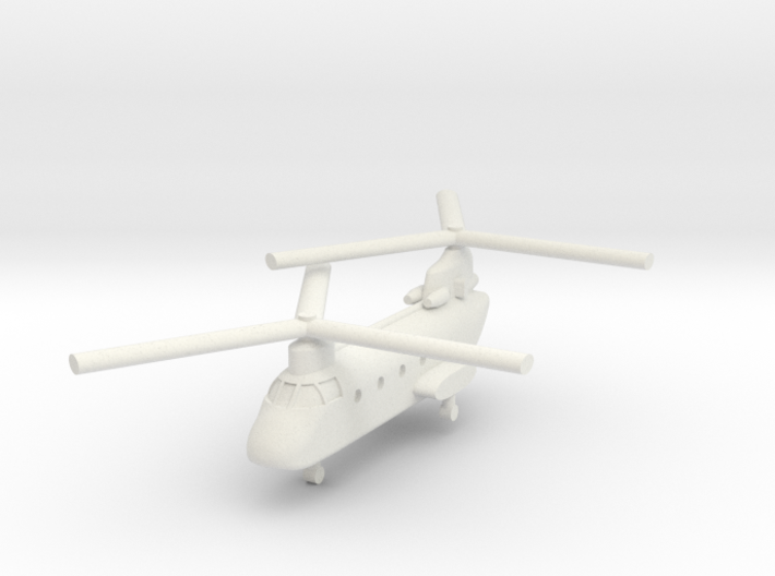 1/285 CH-46D Sea Knight (x1) 3d printed