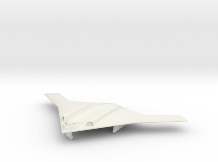1/285 Long Range Strike Bomber (LRS-B) (x1) Landed 3d printed