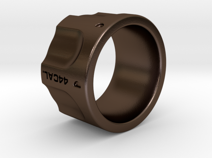 Revolver Ring Size 9 3d printed