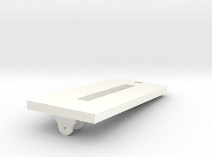1:24 scale Royal Navy 18 Lb Carronade Slide 3d printed