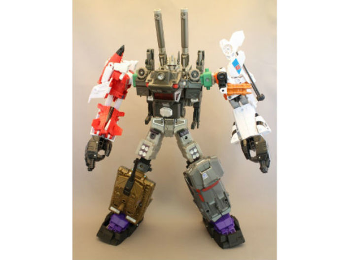 Combiner Wars and Energon female convert joint 3d printed