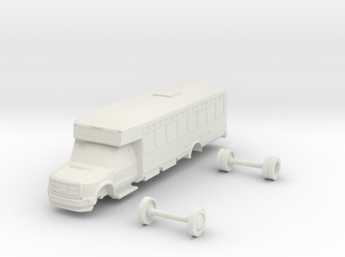HO Scale Eldorado Aero Elite Shuttle Bus Ford F550 3d printed