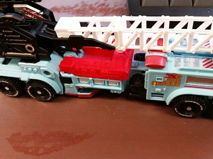 CW Hot Spot 3d printed Vehicle mode
