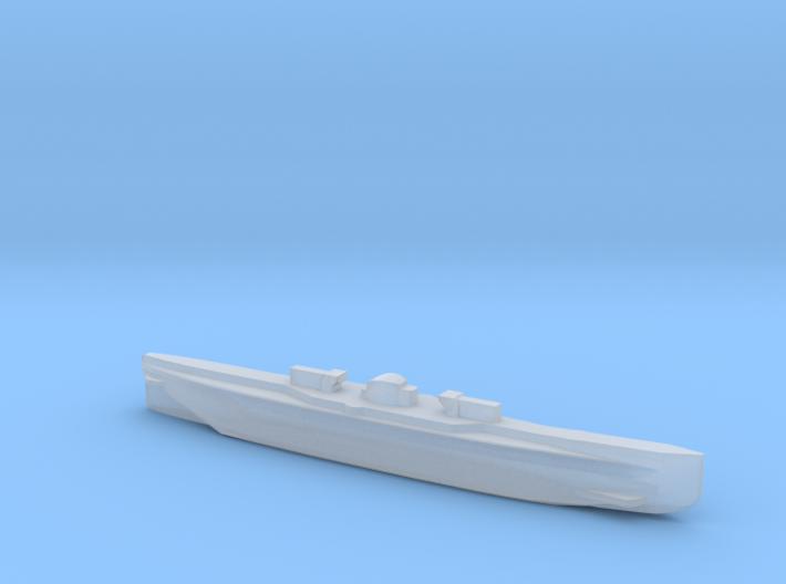 U151, Full Hull, 1/1800 3d printed