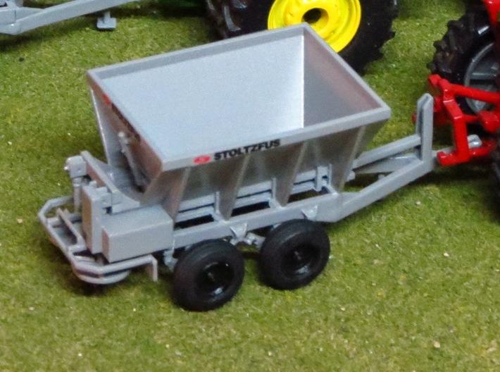 1/64 Stoltzfus WLS-50 Fertilizer Spreader  3d printed