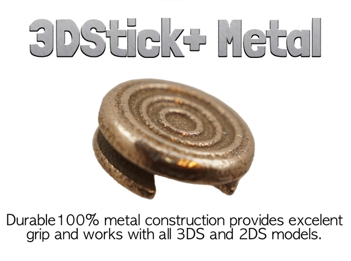 3DStick+ Metal (3DS Circle Pad) 3d printed