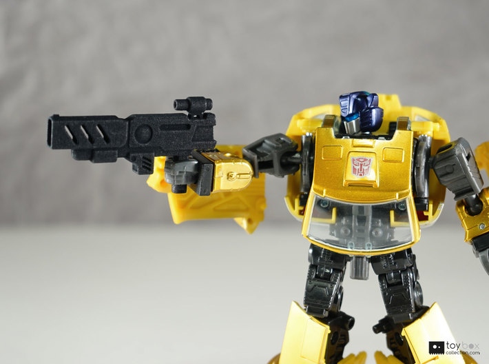 Transformers CHUG Machine Pistol 3d printed