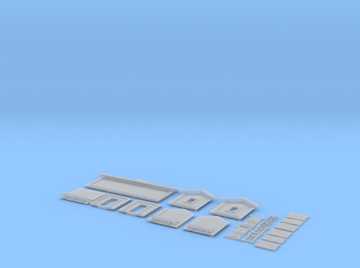 NAQ12 Platform shelter 3d printed