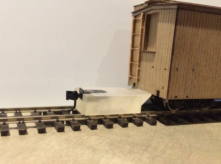 SN2 Coupler Gauge S Scale 3d printed
