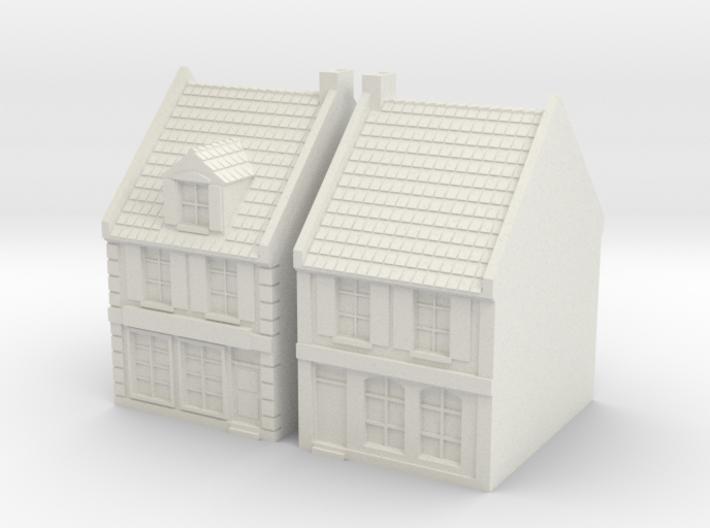 1:285-City House X2 3d printed