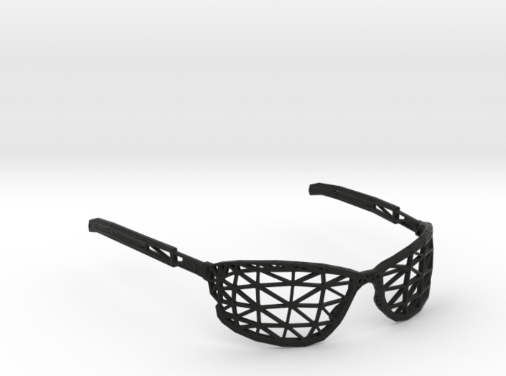 Wireframe Glasses 3d printed