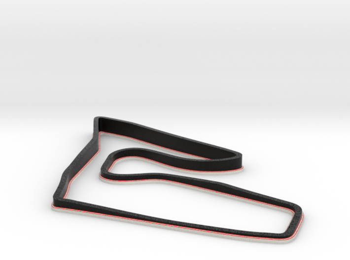 Red Bull Ring | Topographic Small 3d printed