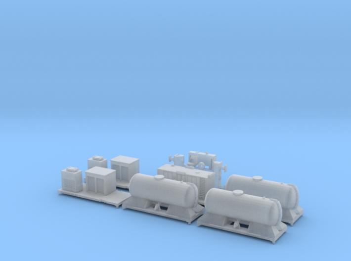 FEA-B Rail Head Treatment Train v1.0 3d printed
