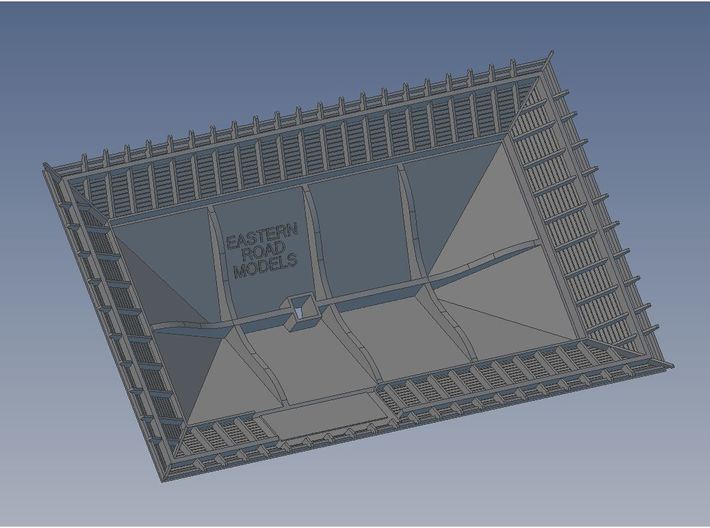 1904 Way Stn Roof 3d printed