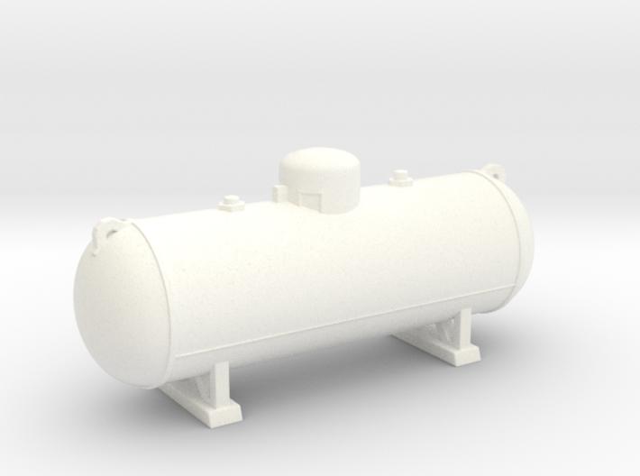 Propane tank 500 gallon. HO Scale (1:87) 3d printed Propane Tank 500 gallon in HO scale (1:87)