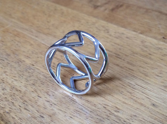 Ring Arrow 3d printed
