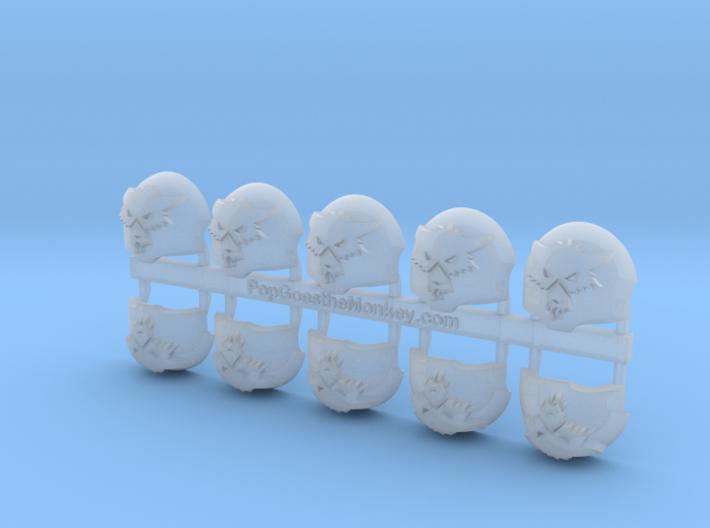 Redmaws  = Terminator Shoulder x10 3d printed
