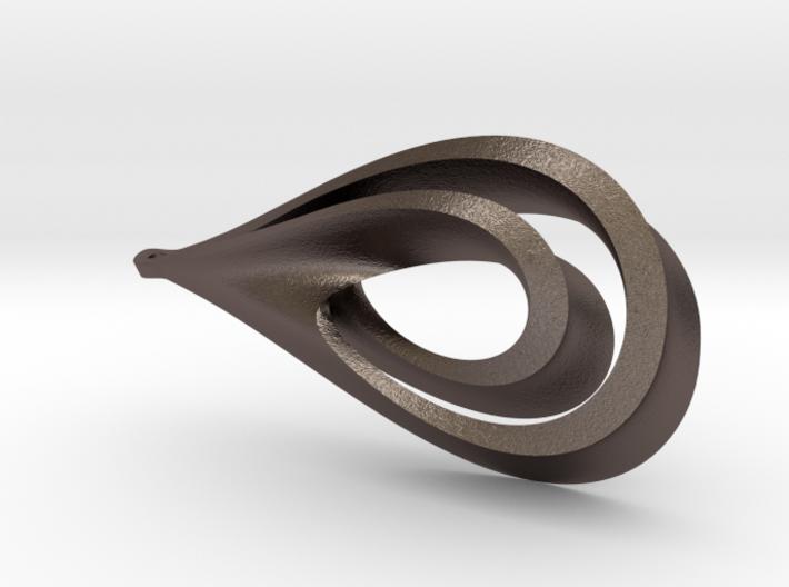 Drop Pendant 3d printed