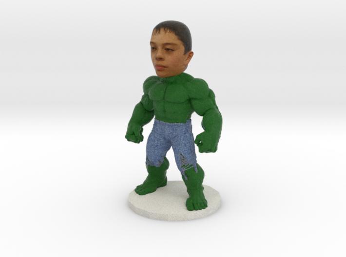 Hulk Cake Topper Mini Figure 3d printed