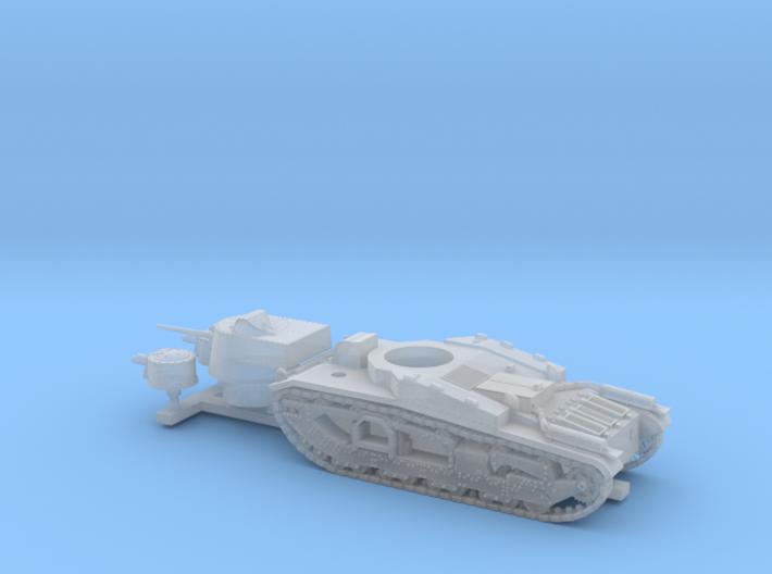 Vickers Medium Mk.III (1:200 scale) 3d printed