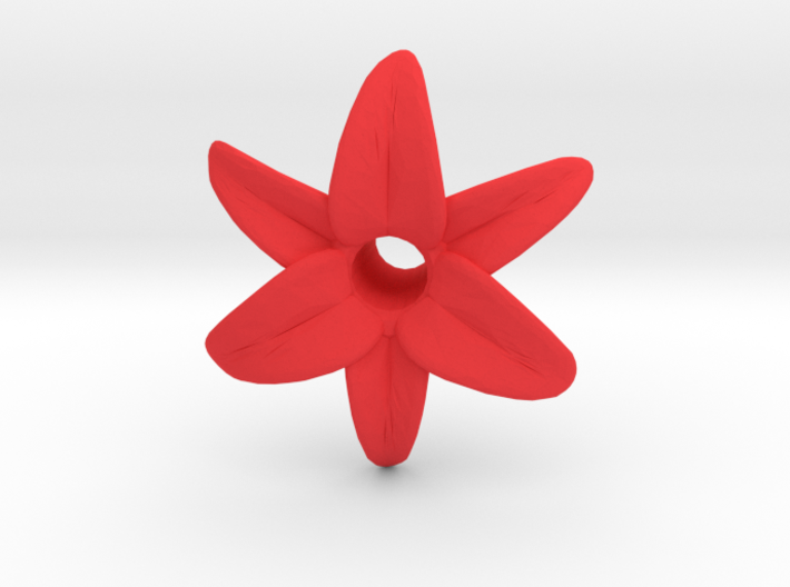 Lily Blossom (hollow) 3d printed