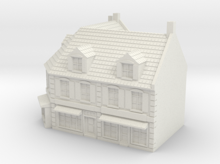 1:350 Corner House 1 3d printed