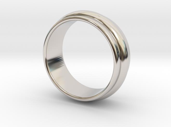 Ø 19.62 Mm Classic Beauty Ring Ø 0.772 Inch 3d printed