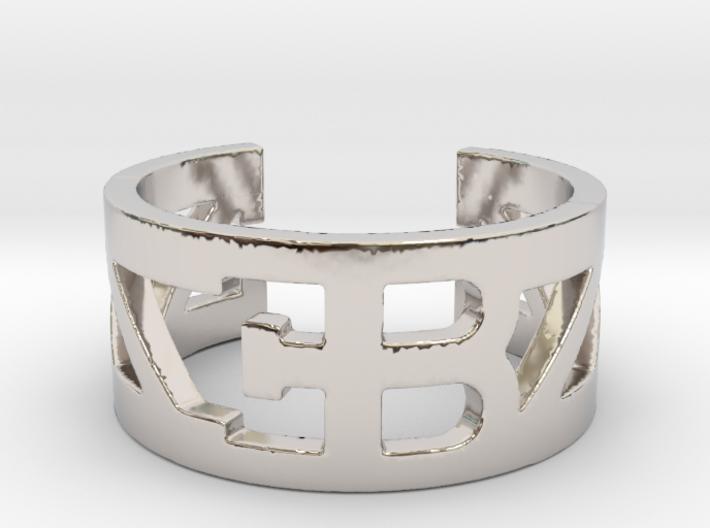 Bugatti Ring Size 10 3d printed