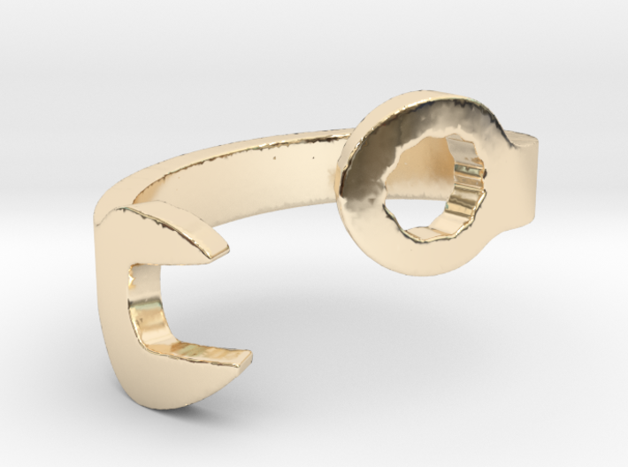 Wrench Ring Size 10 3d printed