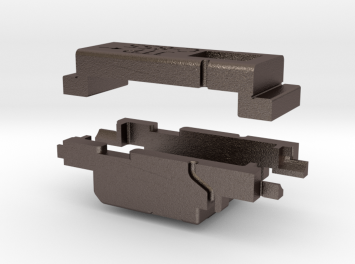 ALCO C-855 N Scale Chassis Extenders 3d printed