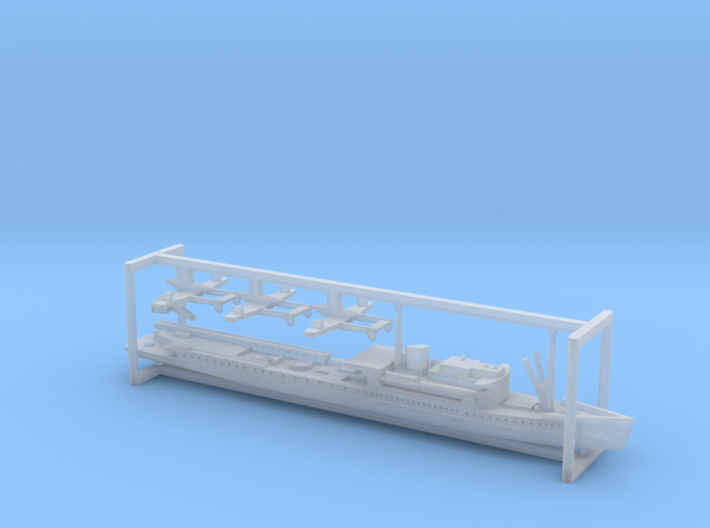 German KM Friesenland Catapult Ship 1/2400 3d printed