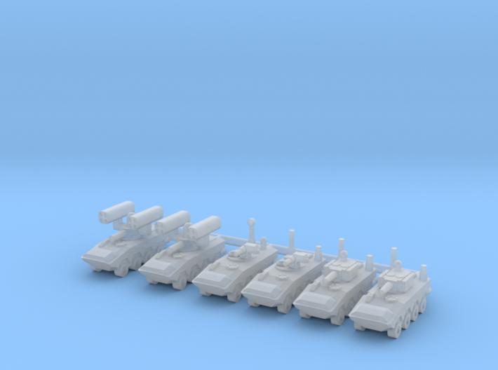 1/700 SuperAV Battalion HQ 3d printed