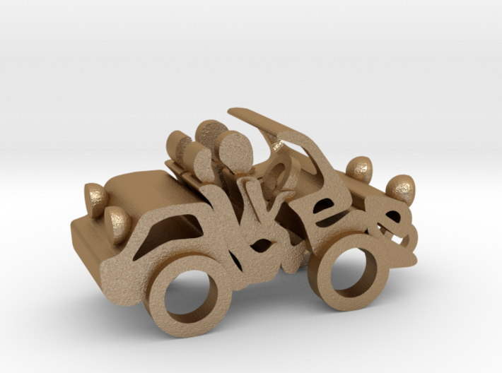 Car made from your name 3d printed