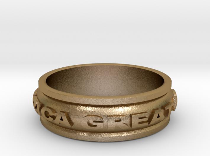 Make America Great Again Ring 3d printed